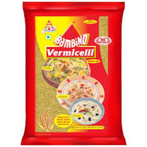 Bambino Vermicelli is 100% Suji based vermicell