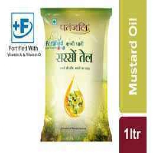Patanjali Mustered Oil